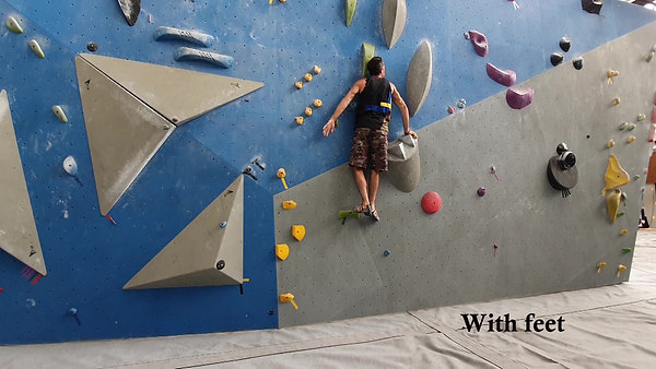 Webserie E2S1 Climbing Session