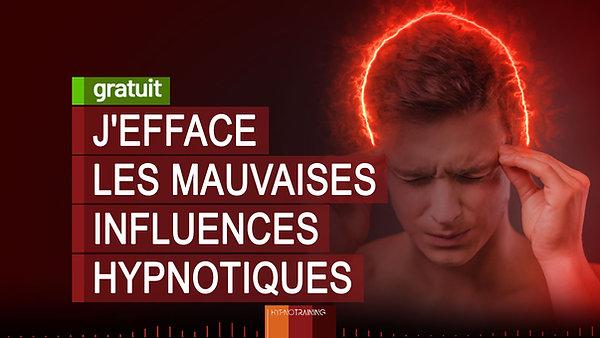 SPORT006 J'EFFACE LES MAUVAISES INFLUENCES HYPNOTIQUES