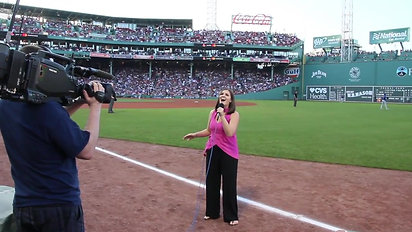 Girl on Fire (Alicia Keys Cover) - Live at Fenway Park