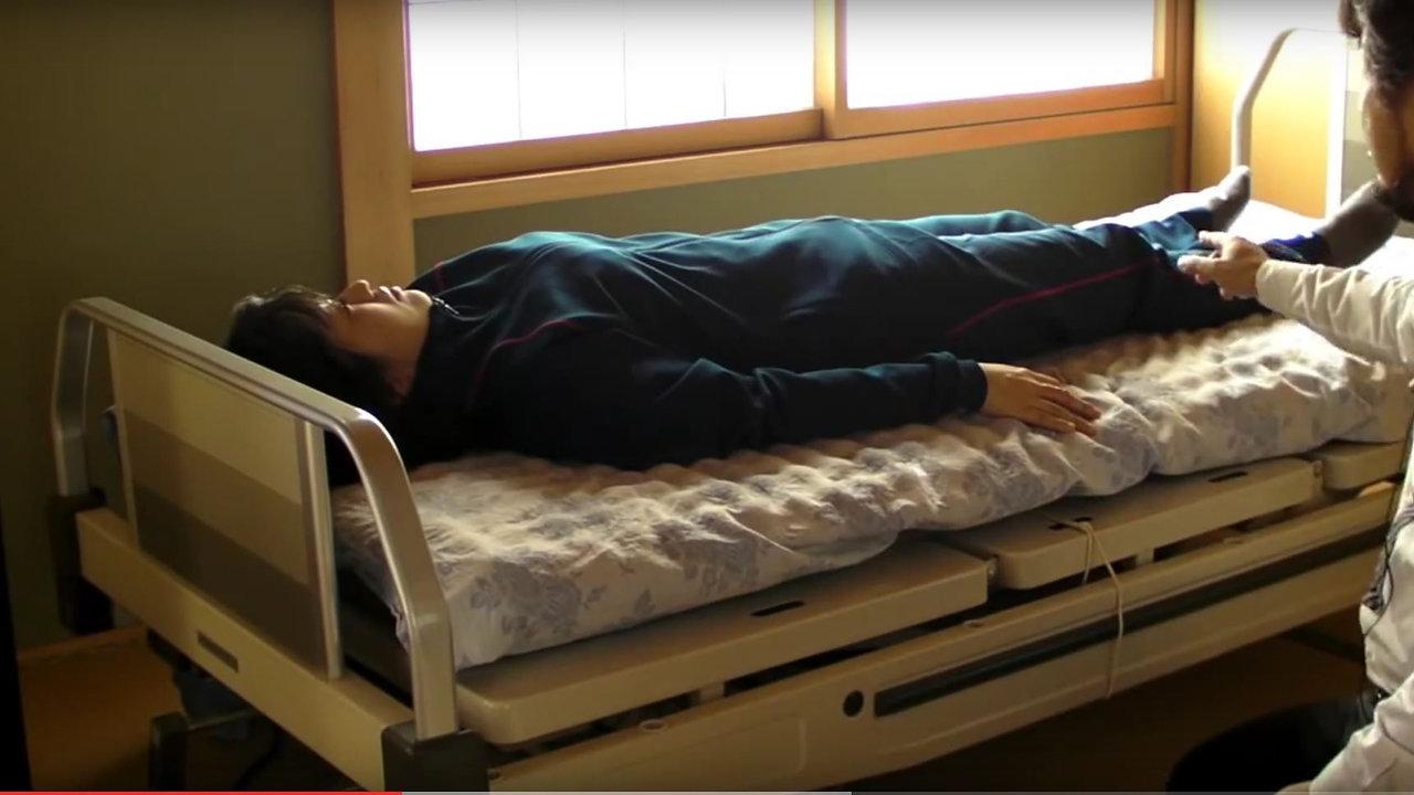 麻痺した体になれる、軽くする編