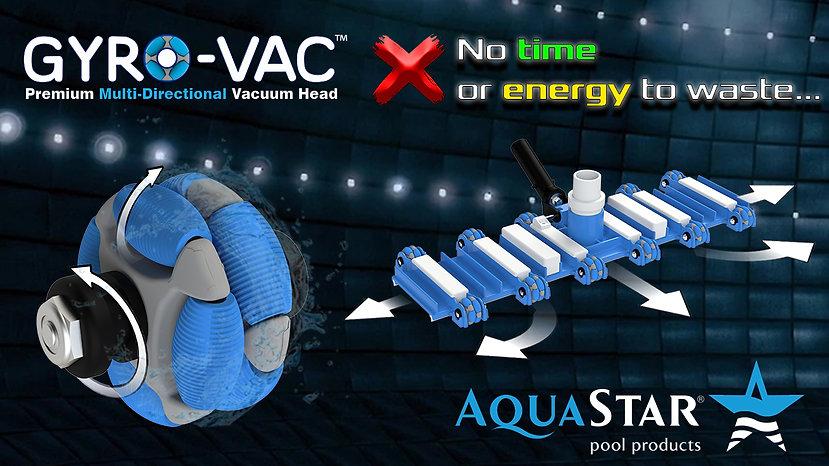 Gyro-Vac Premium Multi-Directional Vacuum Head