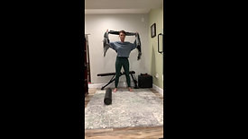 Upper Back & Neck Stretches & Rolling