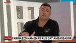 Farinazzo named as Australia Day Ambassador