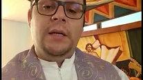 Mensagem do novo pároco frei Danilo Gomes de Almeida, OSA