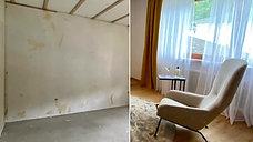 Fix & Flip Projekt Wohnzimmer