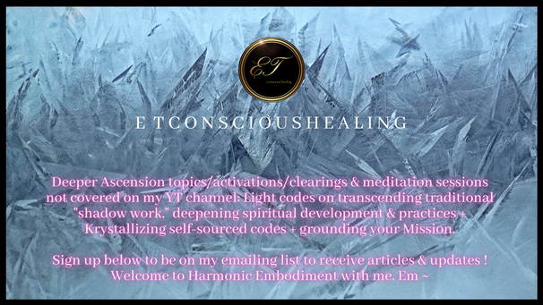 Harmonic Embodiment Channel - etconscioushealing