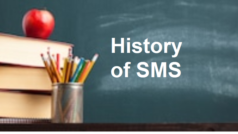 History of SMS