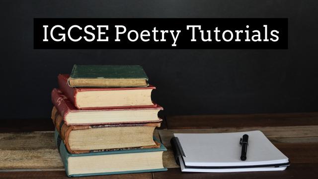 IGCSE Poetry Skills