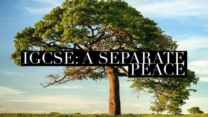 IGCSE: A Separate Peace (Full Novel)