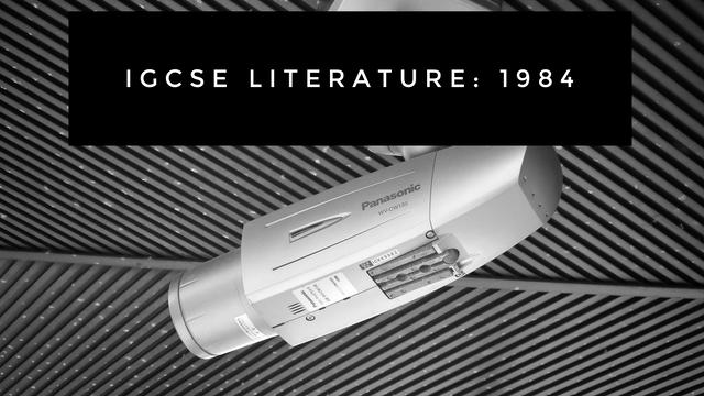 IGCSE 1984 (Extract)