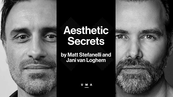 Aesthetic Secrets with special guests dr. Jani van Loghem & dr. Matt Stefanelli (FRA). Webinar recorded on July 30th 2020