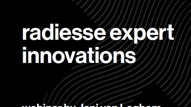 Radiesse expert techniques 6: Radiesse Expert Innovations with special guests dr. Nabila Azib, dr John Leonardo and dr Wouter Peeters. Webinar recorded on May 21st, 2020