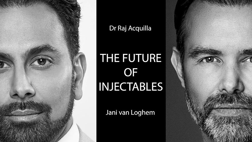 The future of injectables with special guest Raj Acquilla. Webinar recorded on may 15th, 2020