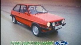 Fiesta XR2 Ad