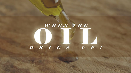 When The Oil Dries Up