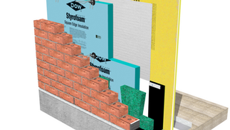 Fasteners to attach Styrofoam™ from Dow Building Solutions by Rodenhouse Inc.