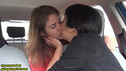 Uber Driver SECRETLY Makes Out with Her Passenger!