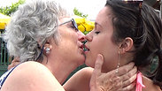 Real Daughter Kissing Real Mother PRANK!