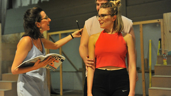 Anything Goes: In Rehearsal