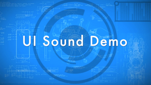 UI/UX Sound Demo