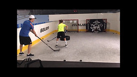 Stickhandling & shooting