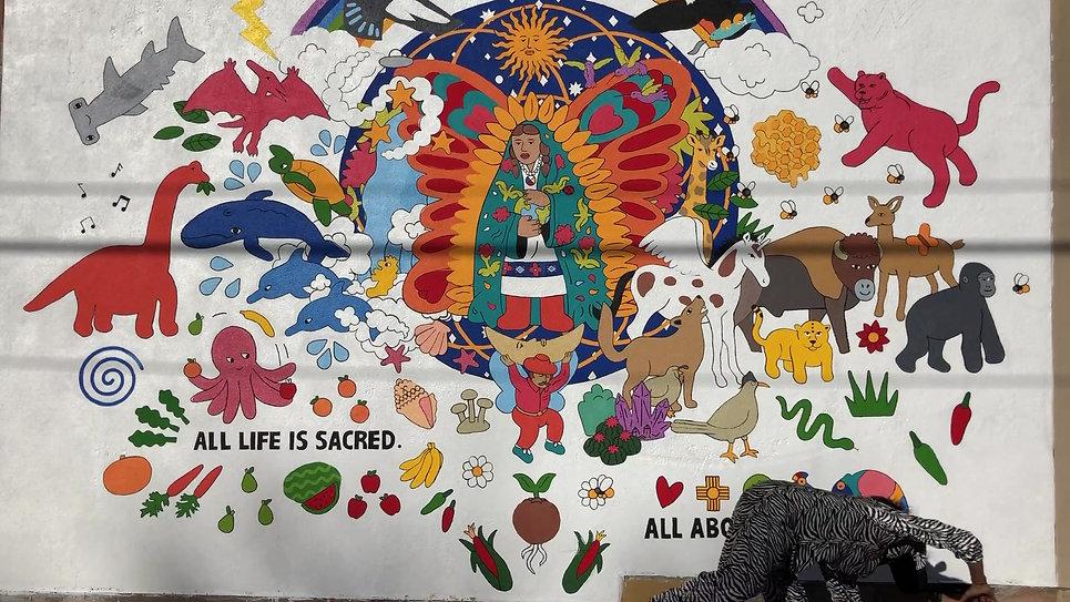 All Life is Sacred, Santa Fe, NM, 2020