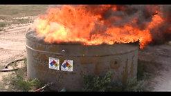 xtt extinguish tank fire