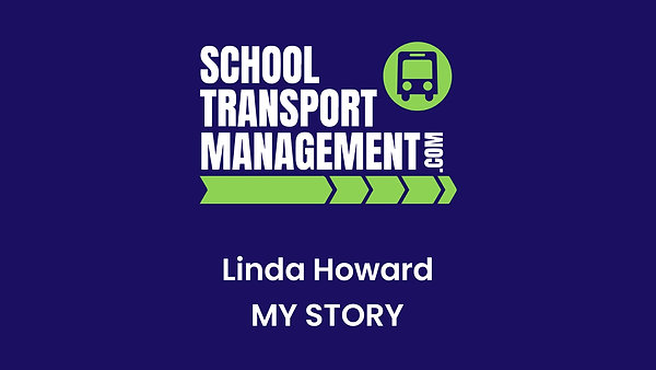 The story of why School Transport Management started