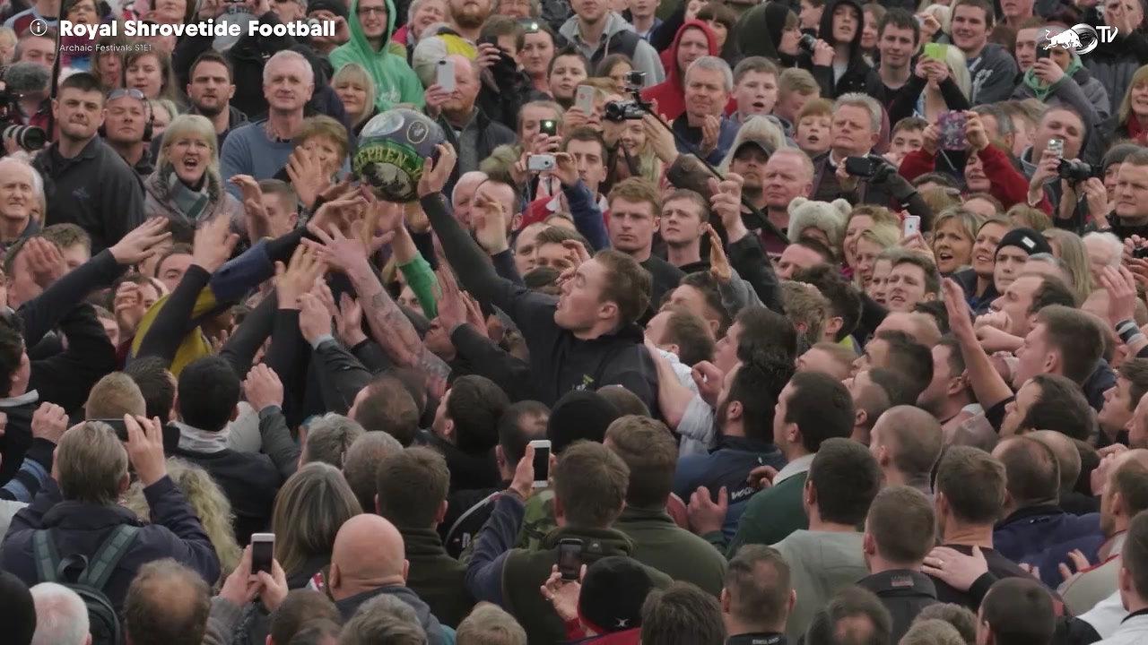 RED BULL: Shrovetide Royal Football