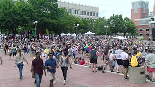 Thousands Fill Downtown Boston For Pride Festival