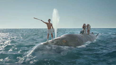 OLD SPICE Whale