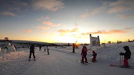 På ski med Tommerup Efterskoles Elevforening