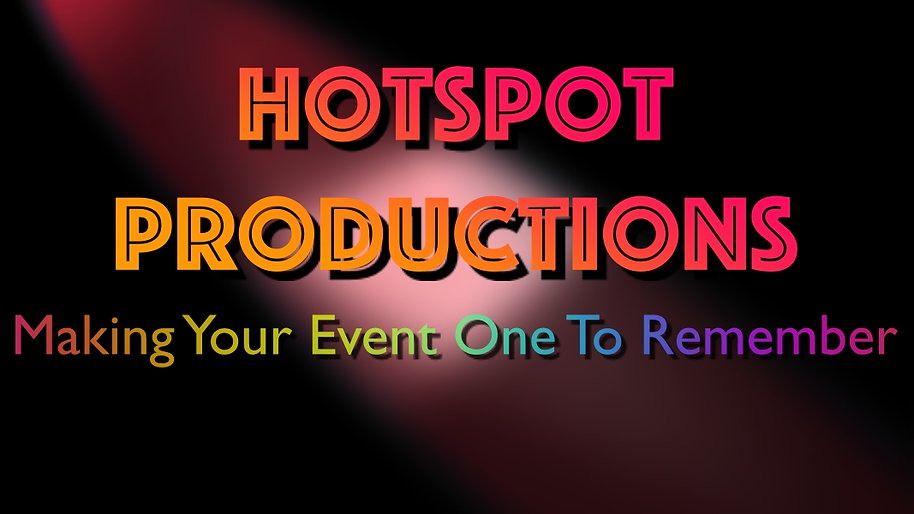 Hotspot Productions Promos... Take  a look!