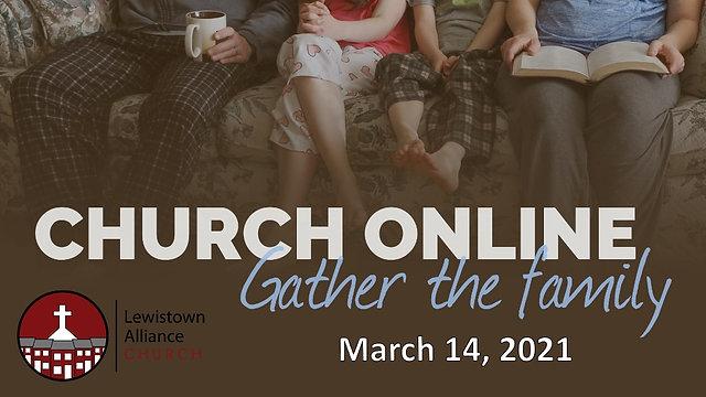 3-14-2021 Worship Service