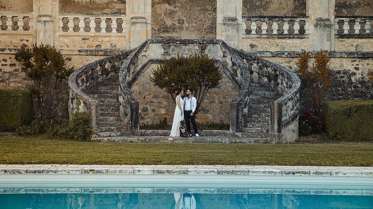Un mariage Rock éco responsable au Château de Poudenas