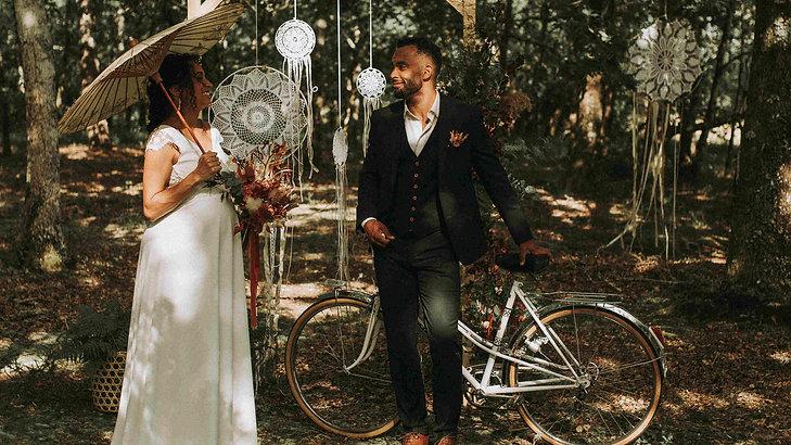 Un mariage bohème au Domaine de Pétiosse