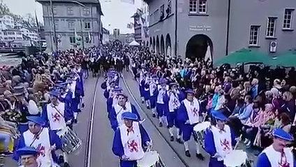 Zunftspiel am Sächsilüüte 2018