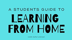 Home Learning Tips for Students