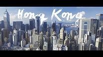 Hong Kong Drohne