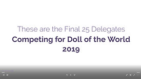 Top 25 - Doll of the World 2019