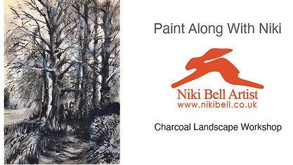 Charcoal Landscape - £10