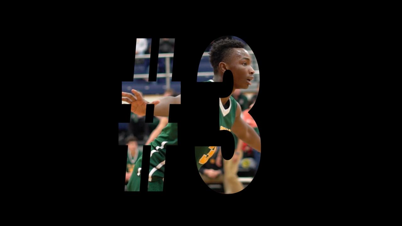 Dai-Yaan L. Solomon (#3) St. Edwards Basketball