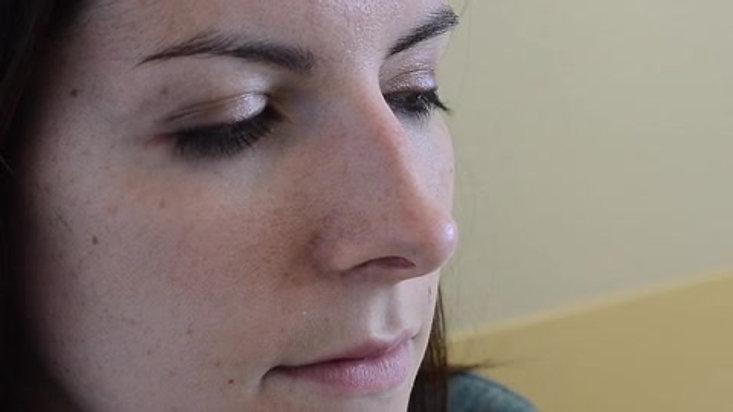 Test au miroir - recherche d'une obstruction nasale