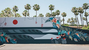 Dirty Dogs Mural - Solana Beach 2020