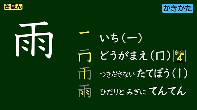 ミチムラ式かんじ学習法