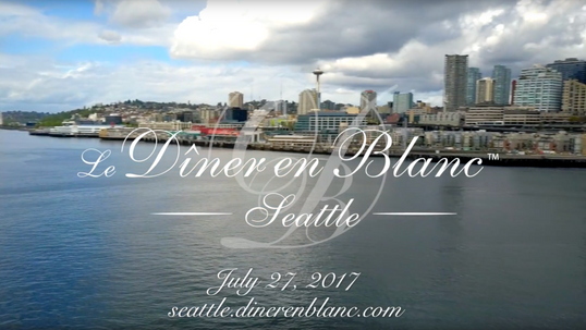 Diner en Blanc - Seattle 2017, Official Video