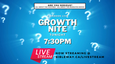 Are You Serious? | Growth Nite | Pastor Raymond Grant