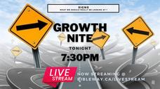 Growth Nite | Pastor Raymond Grant | Restoration Church