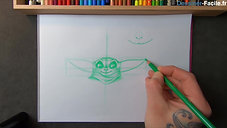 Baby Yoda en Cartoon !