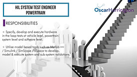 HIL System Test Engineer - Powertrain